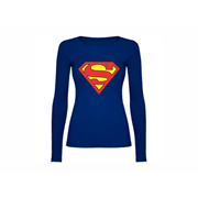 Woman T shirt LS Superman