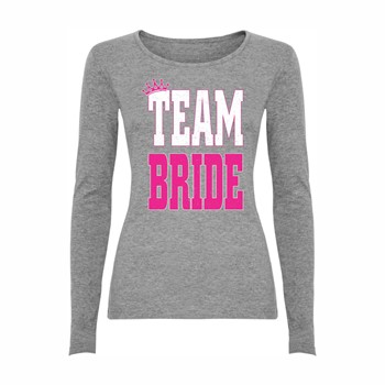 Woman T-shirt LS Team bride