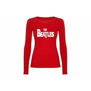 Woman T shirt LS The Beatles