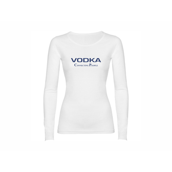 Woman T shirt LS Vodka