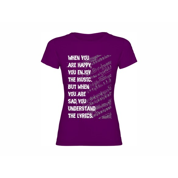 Woman T shirt Lyrics