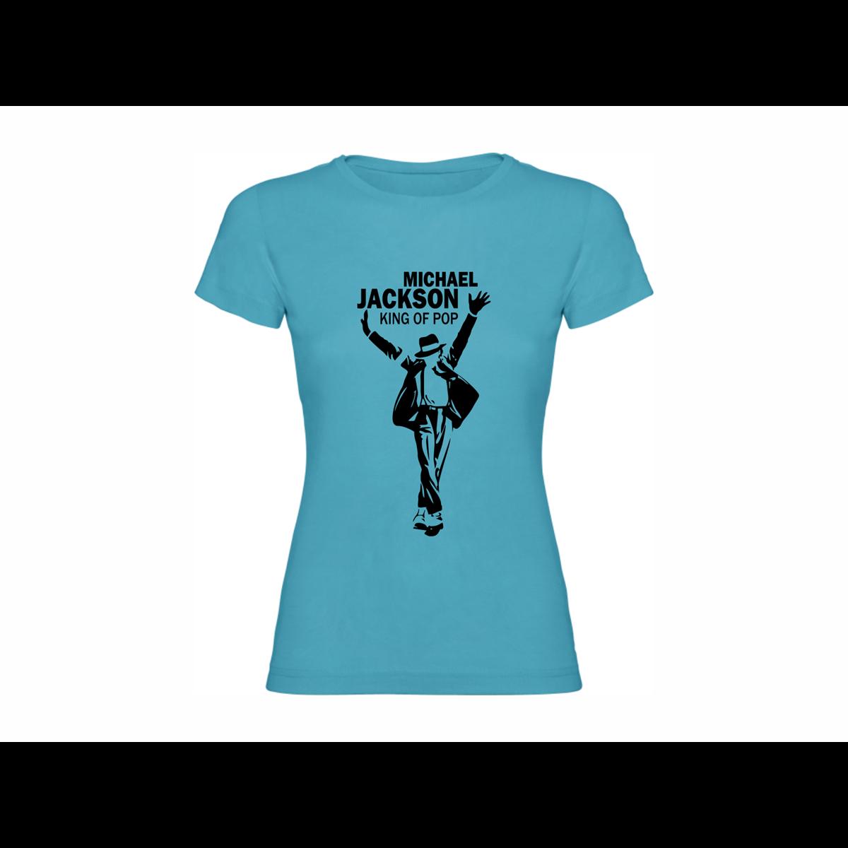 Woman T shirt Michael Jackson