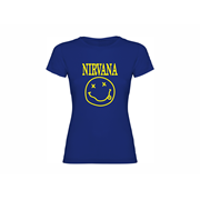 Woman T shirt Nirvana
