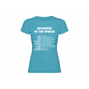 Woman T-shirt Religions of the World