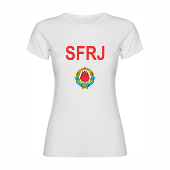 Woman T-shirt SFRJ