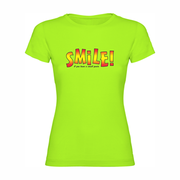 Woman T Shirt Small penis