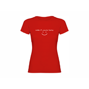 Woman T shirt Smile