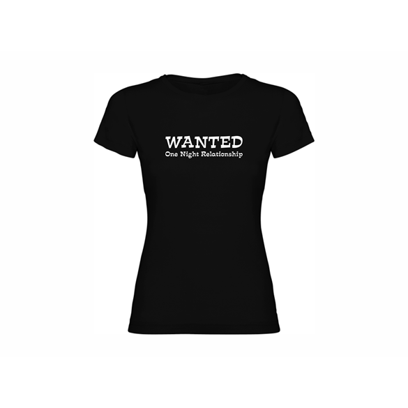 Woman T shirt Wanted