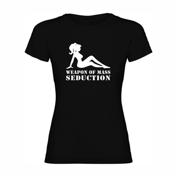 Woman T shirt  Weapon