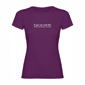 Woman Tshirt If you can...