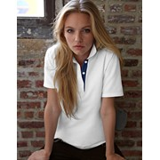 Women'S Double Piqué Polo