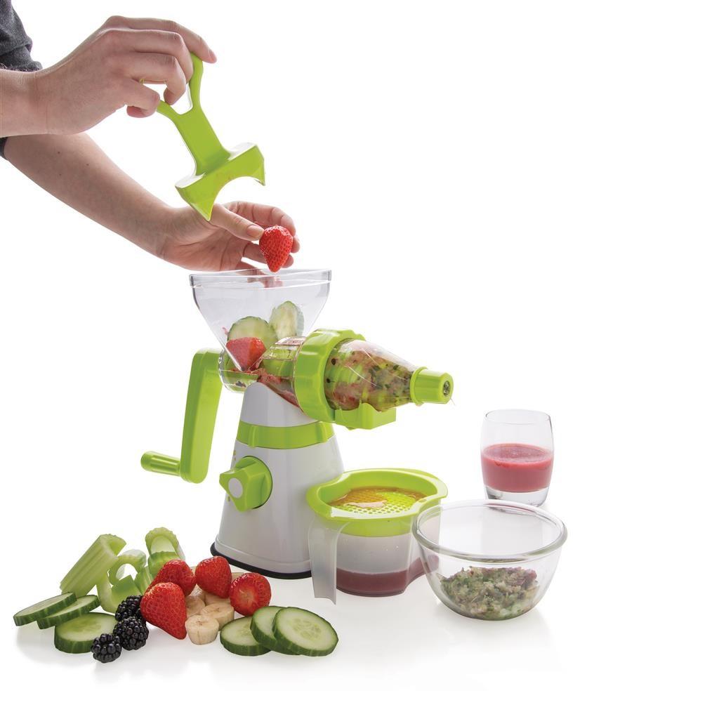Ambiano Slow Juicer Instructions : Manual slow juicer