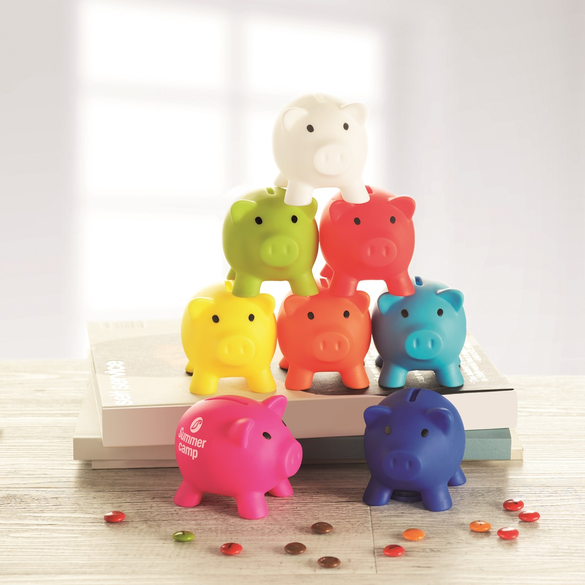 Softco piggy bank - Piggy bank without stopper ...