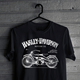 Woman T shirt Harley Vintage
